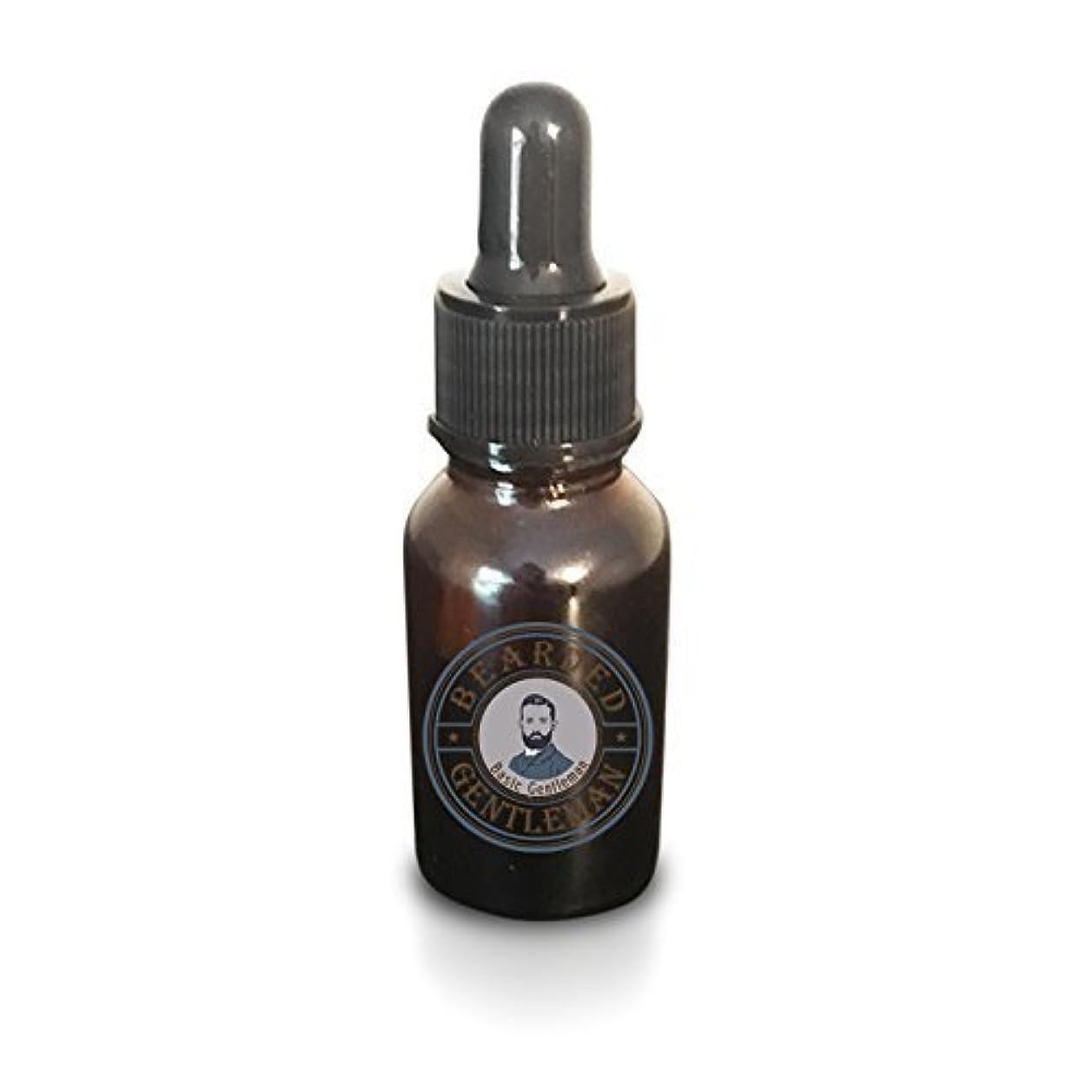 犯罪聴衆罹患率Beard Oil by Bearded Gentleman: Unscented | All Natural Beard Conditioning Oil | 30 ml | Handmade [並行輸入品]