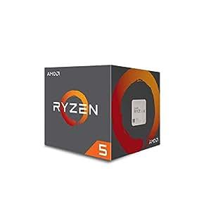 AMD CPU Ryzen5 1500X with Wraith Spire 65W cooler AM4 YD150XBBAEBOX