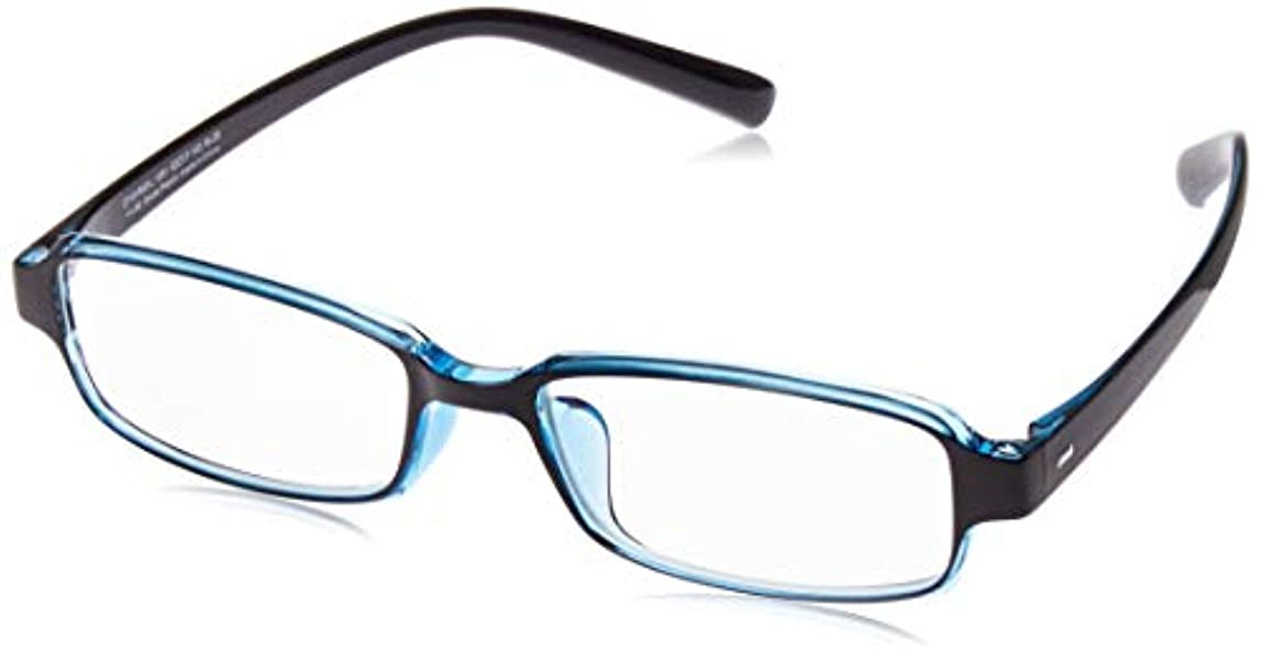 スポーツをする痛み屋内[ゾフ] スクエア型 軽量 老眼鏡(リーディンググラス) Zoff Reading Glasses (リーディンググラス)