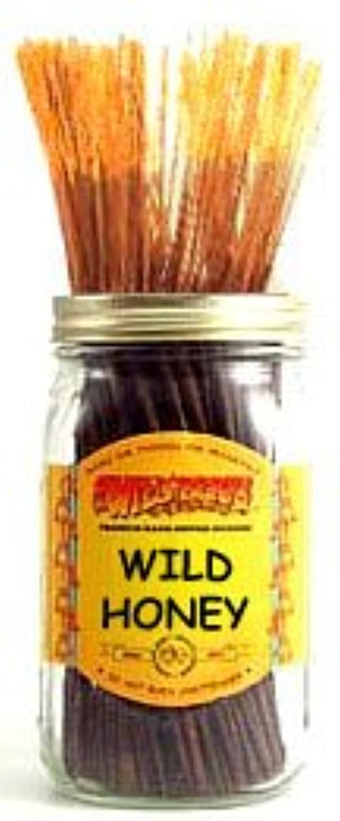 ナプキン銅長老Wild Honey - 100 Wildberry Incense Sticks by Wild Berry