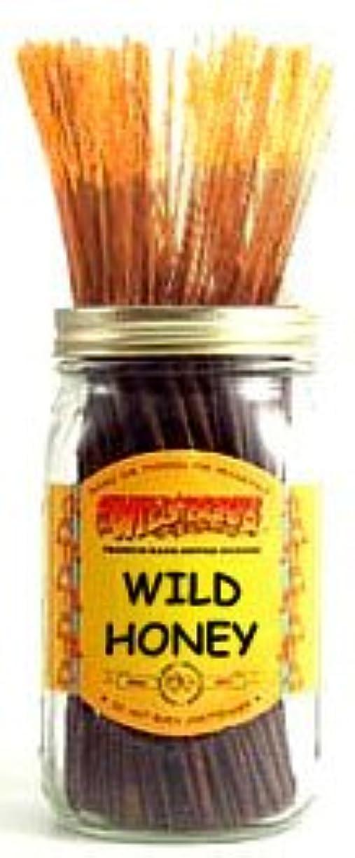 基本的な露骨な俳句Wild Honey - 100 Wildberry Incense Sticks by Wild Berry