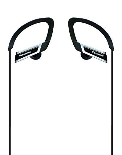 パナソニック カナル型イヤホン 耳掛け式 防滴仕様 スポーツ用 ブラック RP-HS200-K