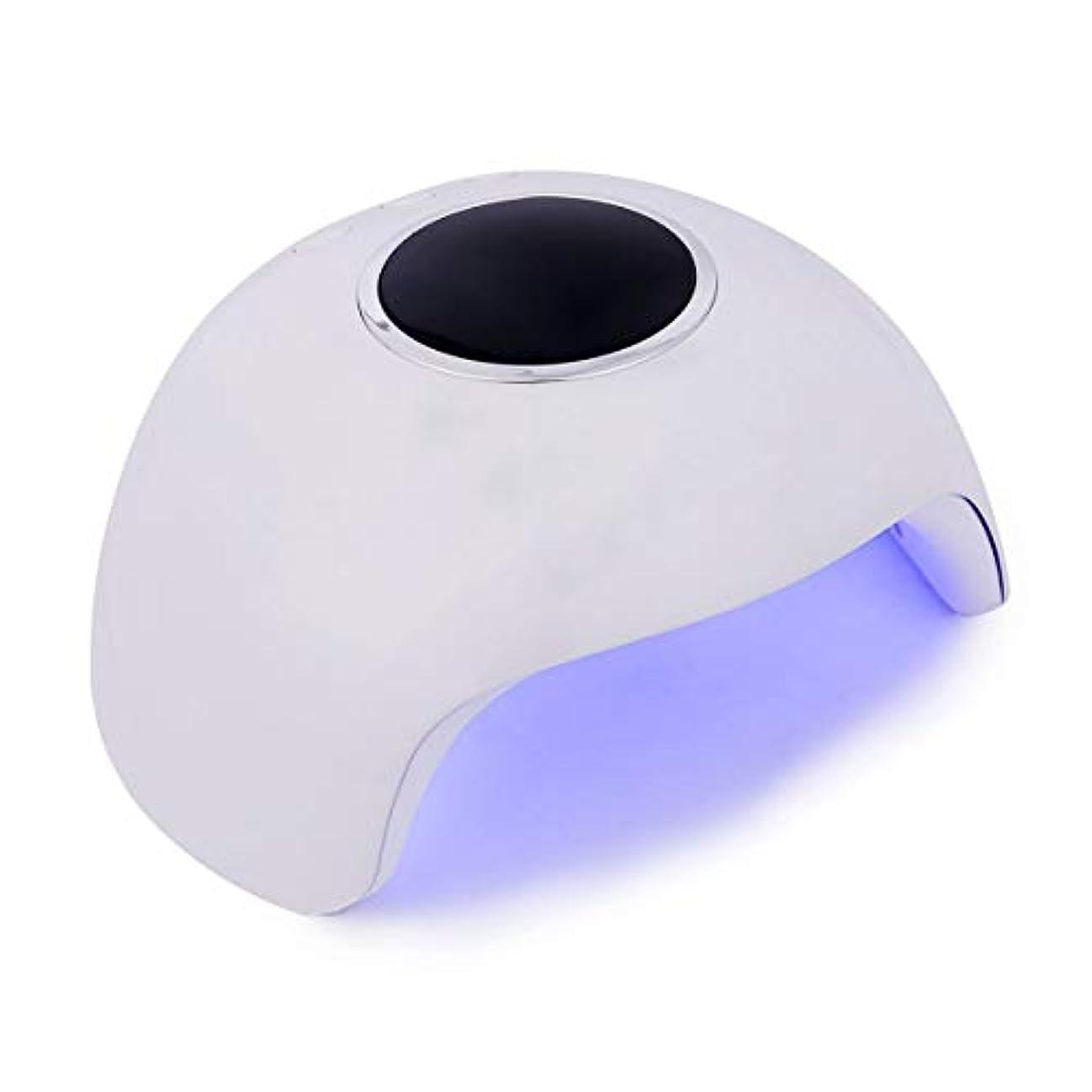納屋反対に石灰岩ネイルジェルランプ36/45 / 80W LED UVランプネイルドライヤーLEDネイルホワイトライトネイルジェルタイマーボタン付きマニキュア機USBコネクタネイルアートツール