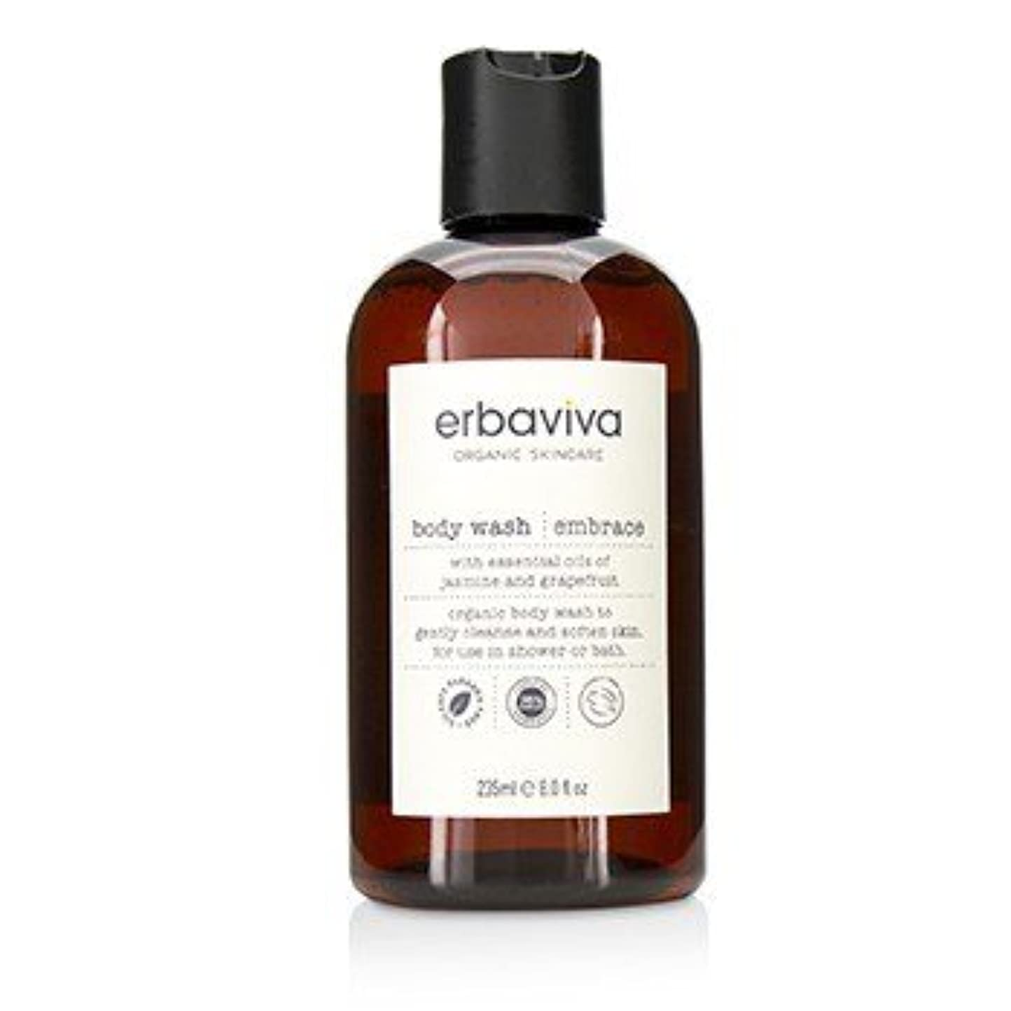 疾患魅了する現れるErbaviva Embrace Body Wash 235ml [並行輸入品]