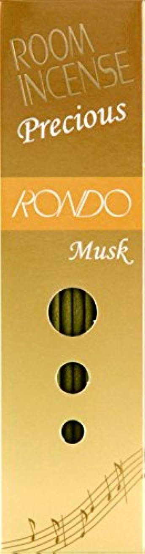 ご覧ください容量電報玉初堂のお香 ルームインセンス プレシャス ロンド ムスク スティック型 #5508