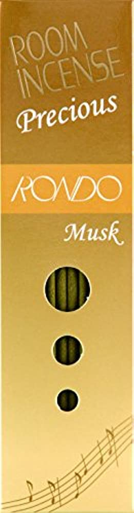 社交的驚いたことにシンプルな玉初堂のお香 ルームインセンス プレシャス ロンド ムスク スティック型 #5508