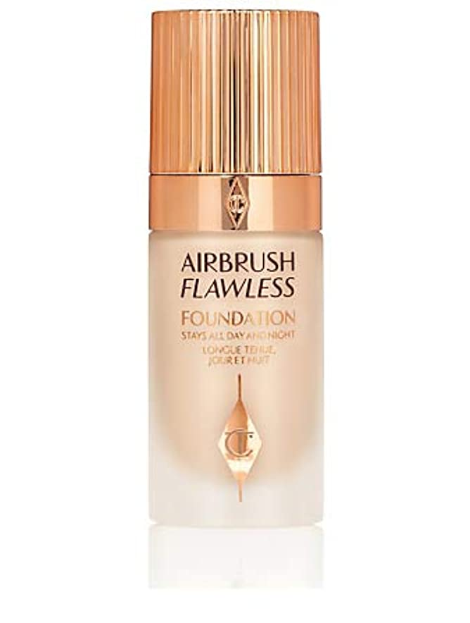スケート誕生消費CHARLOTTE TILBURY Airbrush Flawless Foundation No 3 Neutral シャーロットティルバリー