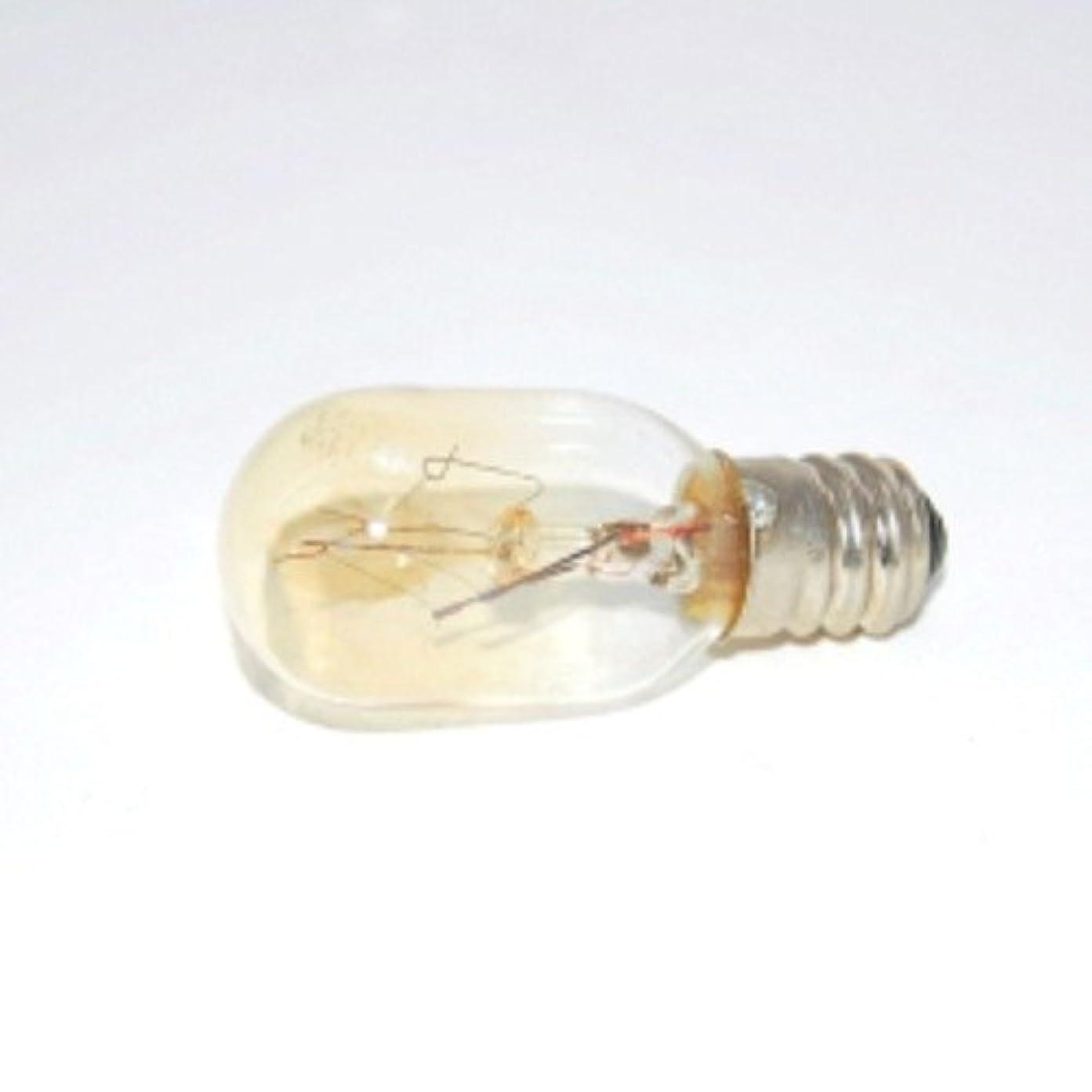適応電気の罪悪感アロマライト 替用 15W電球 クリア 1個