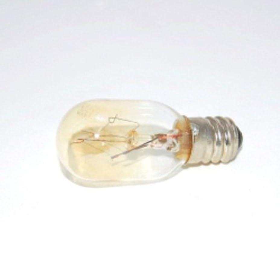 骨折評判毎年アロマライト 替用 15W電球 クリア 1個