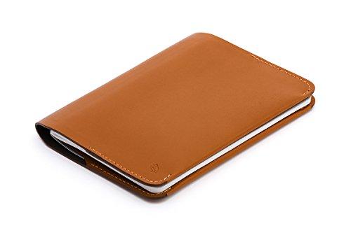 Bellroy レザ ー Notebook Cover Mini ウォレット Caramel