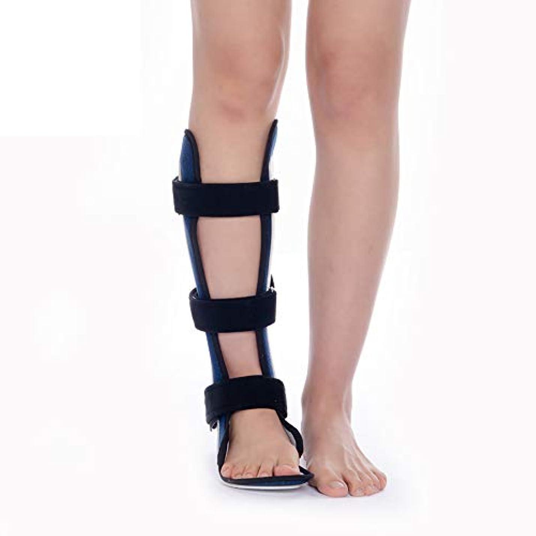 挑発する登場無視ハード足底筋膜炎の夜間副木とトリガーポイントスパイク - スタビライザーブレースは炎症を和らげます - アキレスの痛みを軽減するための足のサポートブーツ