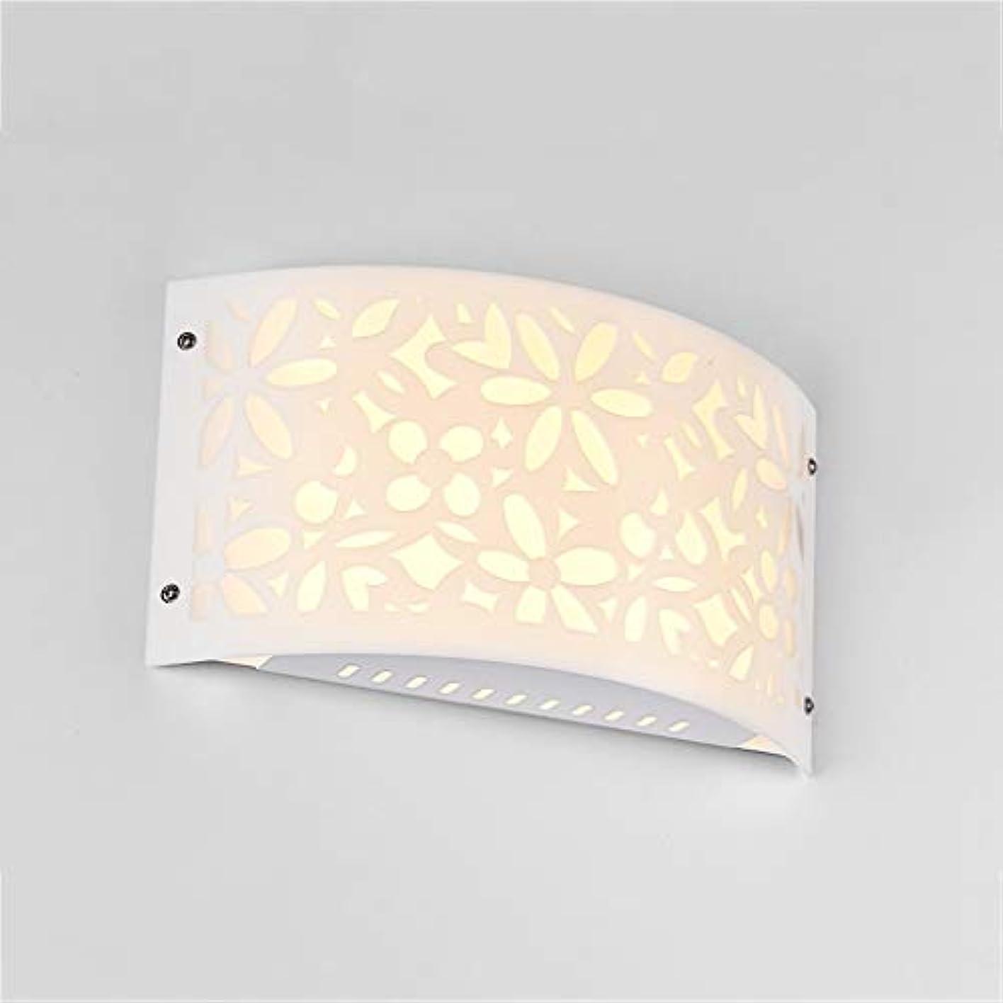 ツールつぼみ夢中シンプルモダンウォールライト、LEDベッドサイドライト、ベッドルームデコレーションウォールランプ通路階段リビングルームの背景照明器具