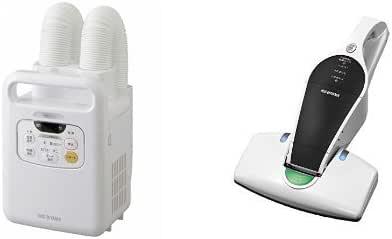 【セット販売】アイリスオーヤマ 布団乾燥機 FK-W1 + 布団クリーナー IC-FDC1-WP