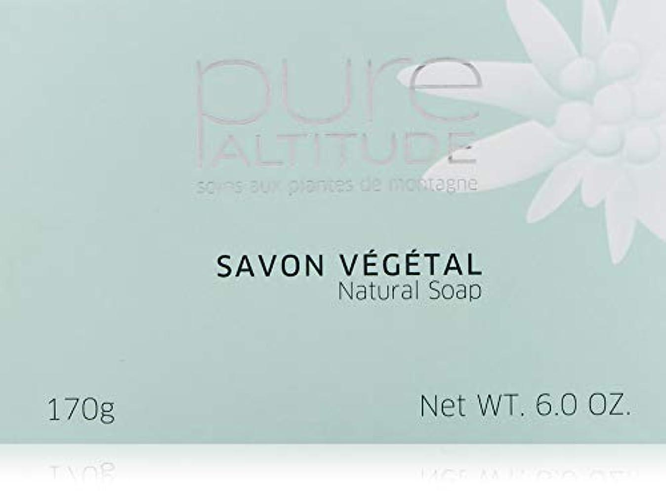 夜間雑品明示的にPure(ピュール) SAVON VÉGÉTAL SENTEUR FLEURS DE NEIGE 170g 石鹸