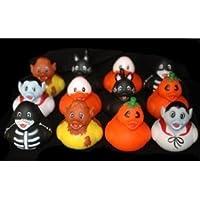 Halloween Rubber Ducks - Set of 12 Duckies/Ducky/Duckie by RIN [並行輸入品]