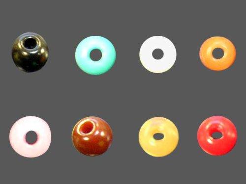丸玉ボタン 水色