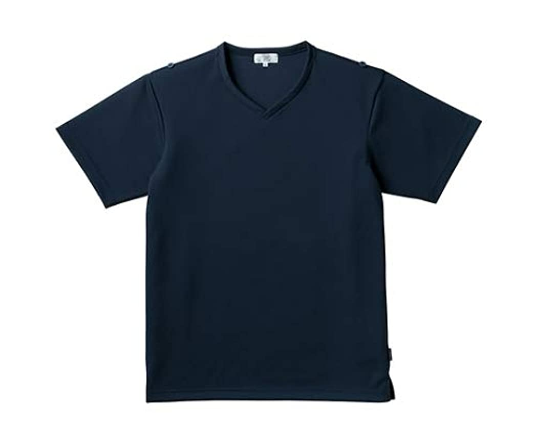 候補者出くわす組み立てるトンボ/KIRAKU 入浴介助用シャツ CR160 LL ネイビー
