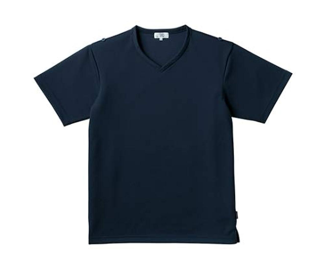 可能性句読点さておきトンボ/KIRAKU 入浴介助用シャツ CR160 M ネイビー