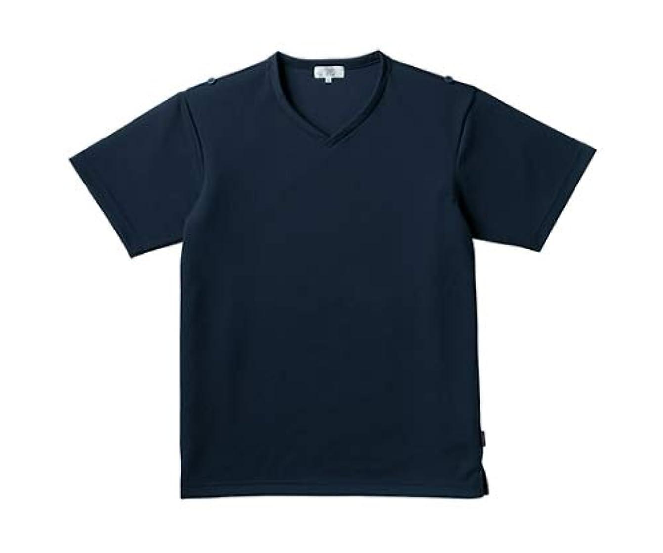 倫理的インスタント怖いトンボ/KIRAKU 入浴介助用シャツ CR160 LL ネイビー