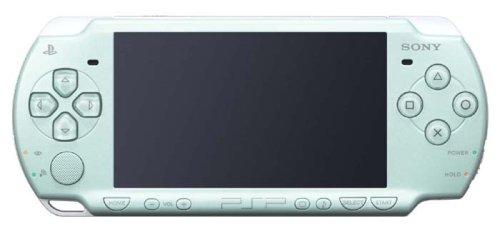 PSP「プレイステーション・ポータブル」 ミント・グリーン (PSP-2000MG) 【メーカー生産終了】の詳細を見る
