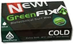4個セット GreenFixWax グリーンフィックスワックス 90g サーフィン用ボードワックス