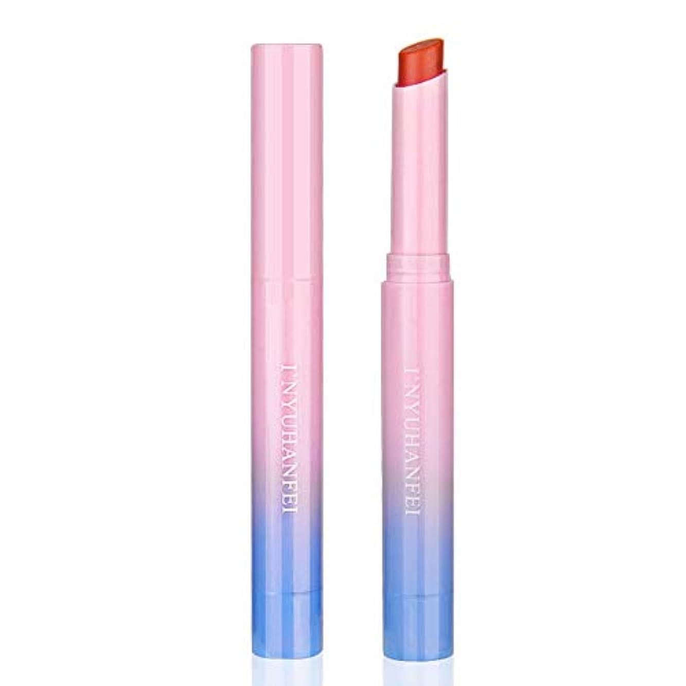 昇進分泌する勘違いするFGULリップグロス怠惰な口紅長続きがする化粧品グラデーションカラー回転保湿リップスティック