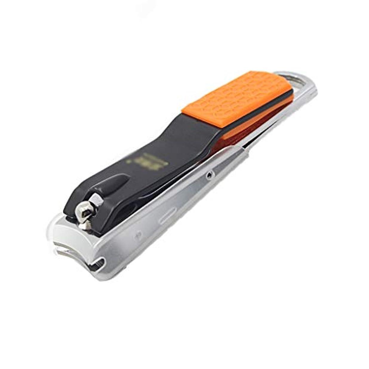 パネル環境二次爪切り シルバー爪切りペディキュア爪修理はさみツール爪切り防滴爪切りシングルはさみ ネイル (Color : C)