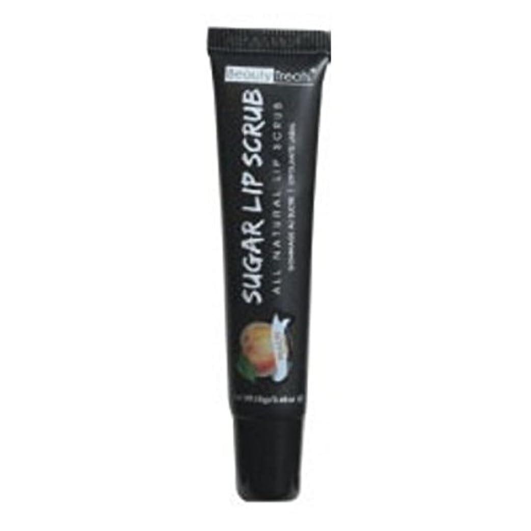 男らしさ速度ラリーベルモントBEAUTY TREATS Sugar Lip Scrub Peach (並行輸入品)