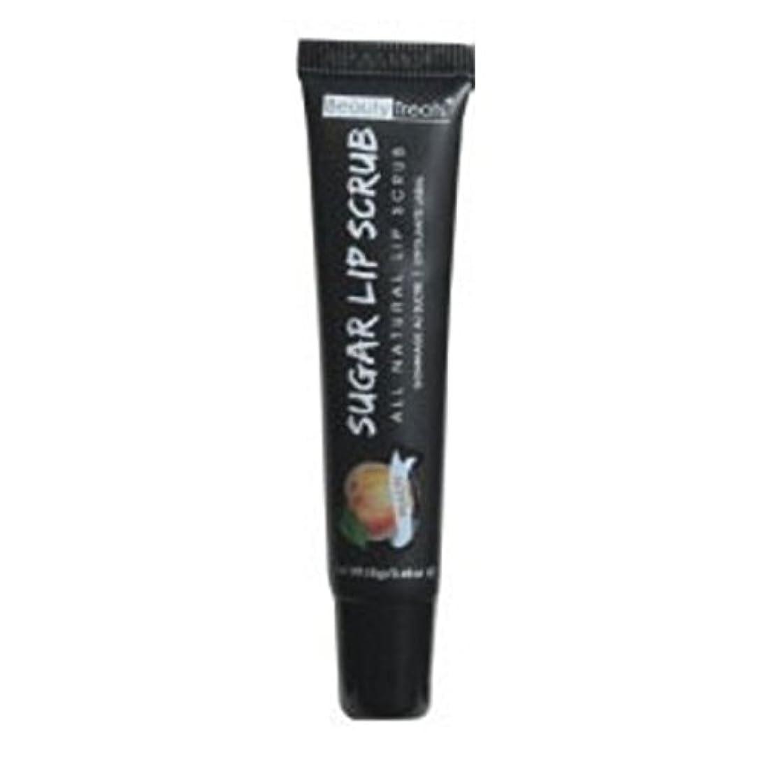 セミナーエゴイズム遺体安置所BEAUTY TREATS Sugar Lip Scrub Peach (並行輸入品)