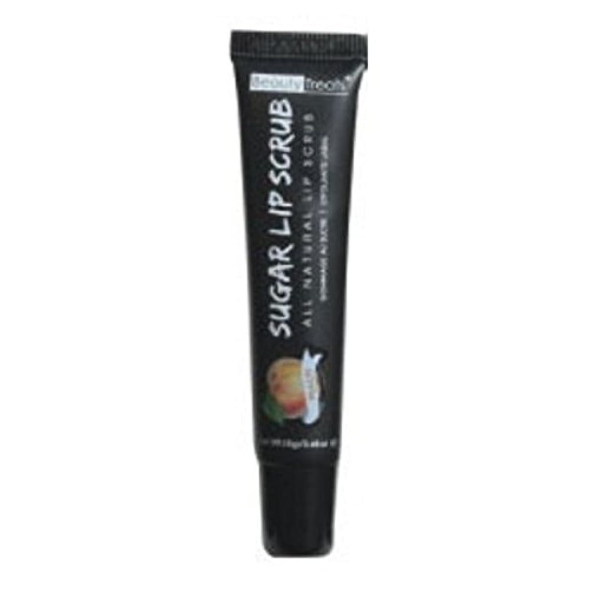 熟考する乱気流臭いBEAUTY TREATS Sugar Lip Scrub Peach (並行輸入品)