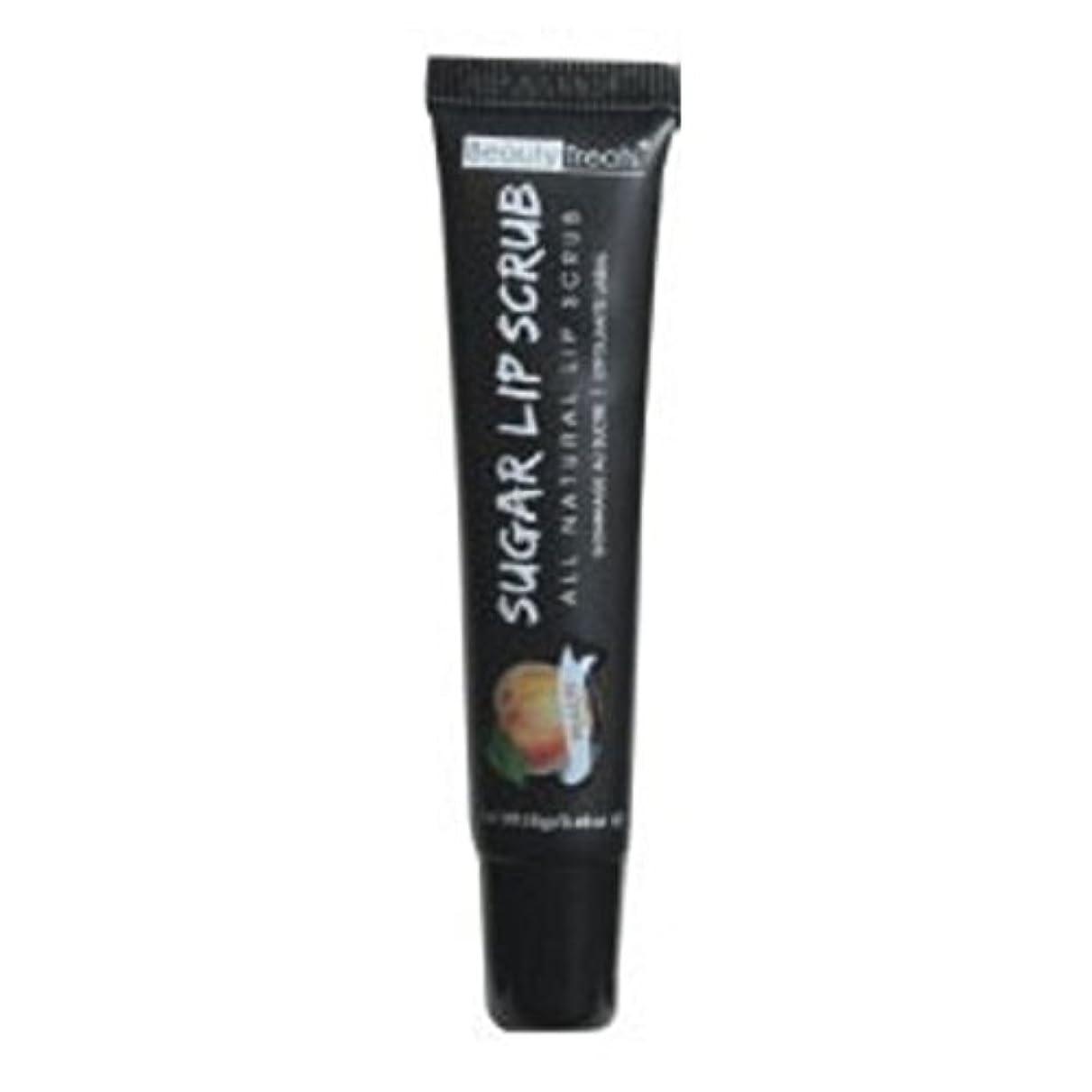 速記心理的単語BEAUTY TREATS Sugar Lip Scrub Peach (並行輸入品)