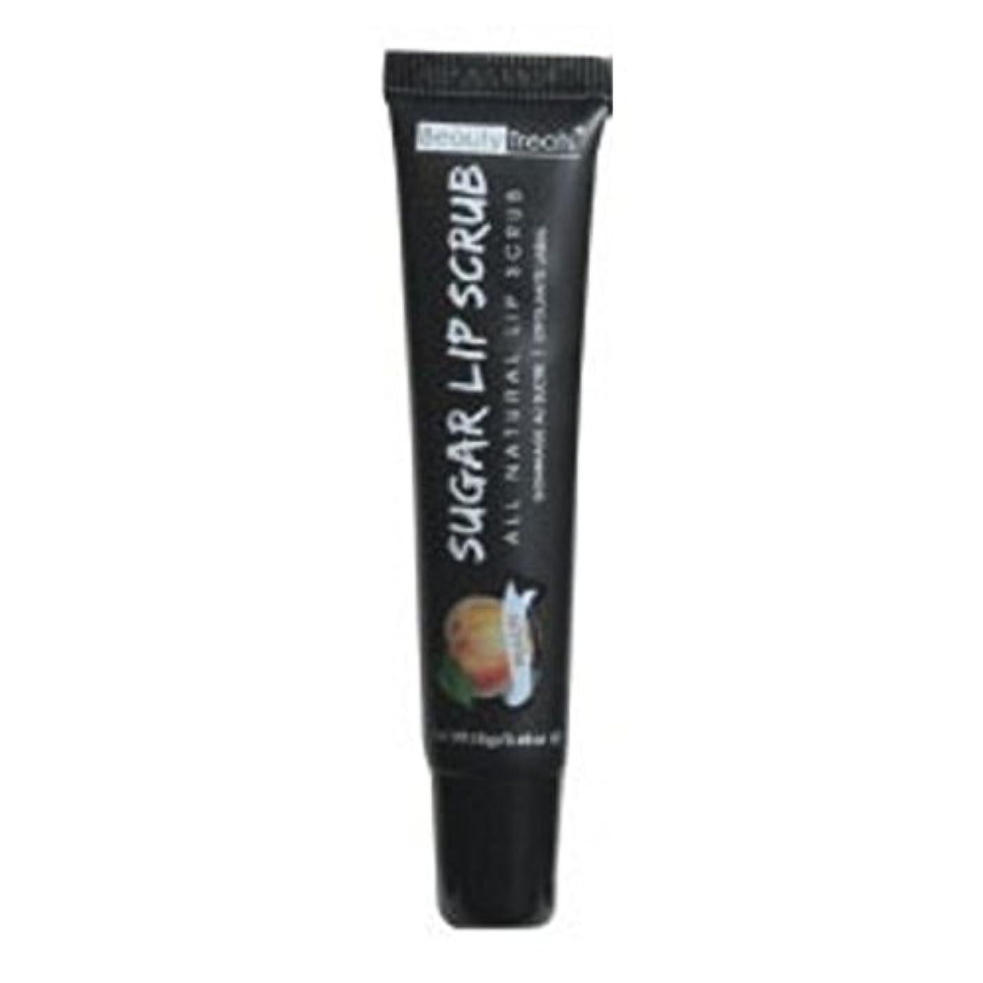 一人で更新威するBEAUTY TREATS Sugar Lip Scrub Peach (並行輸入品)