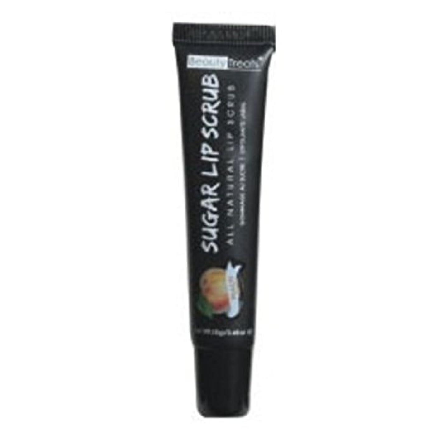 同行略奪谷BEAUTY TREATS Sugar Lip Scrub Peach (並行輸入品)