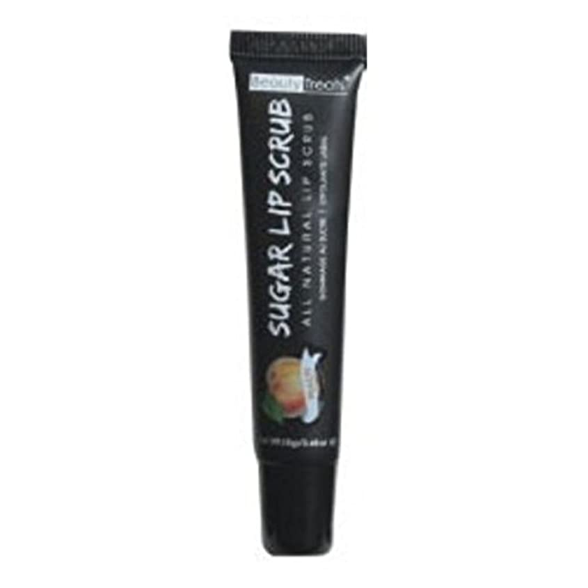 二年生減らす上陸BEAUTY TREATS Sugar Lip Scrub Peach (並行輸入品)