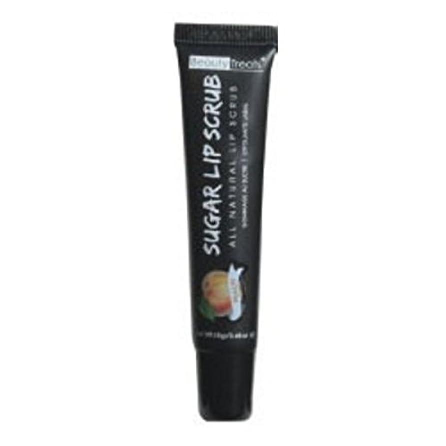嵐唇電子BEAUTY TREATS Sugar Lip Scrub Peach (並行輸入品)
