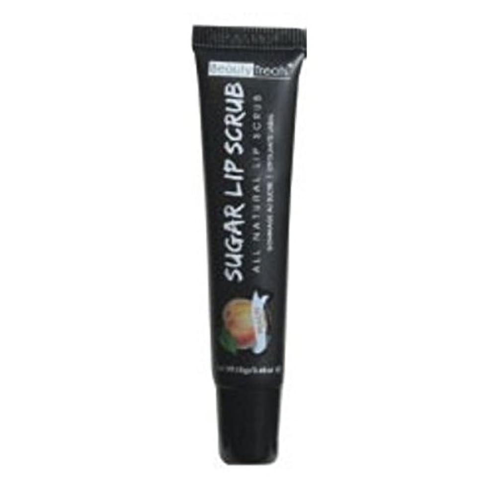 カップルごちそうインフレーションBEAUTY TREATS Sugar Lip Scrub Peach (並行輸入品)