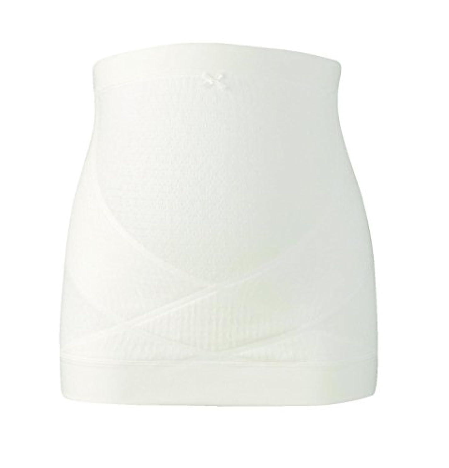 写真撮影騒々しい虚栄心ワコール (Wacoal) マタニティ 妊婦帯 腹巻きタイプ (日本製) 産前 妊娠初期から臨月まで使える 腹帯 [ ギフトケース入り ] M アイボリー MRP476 IV