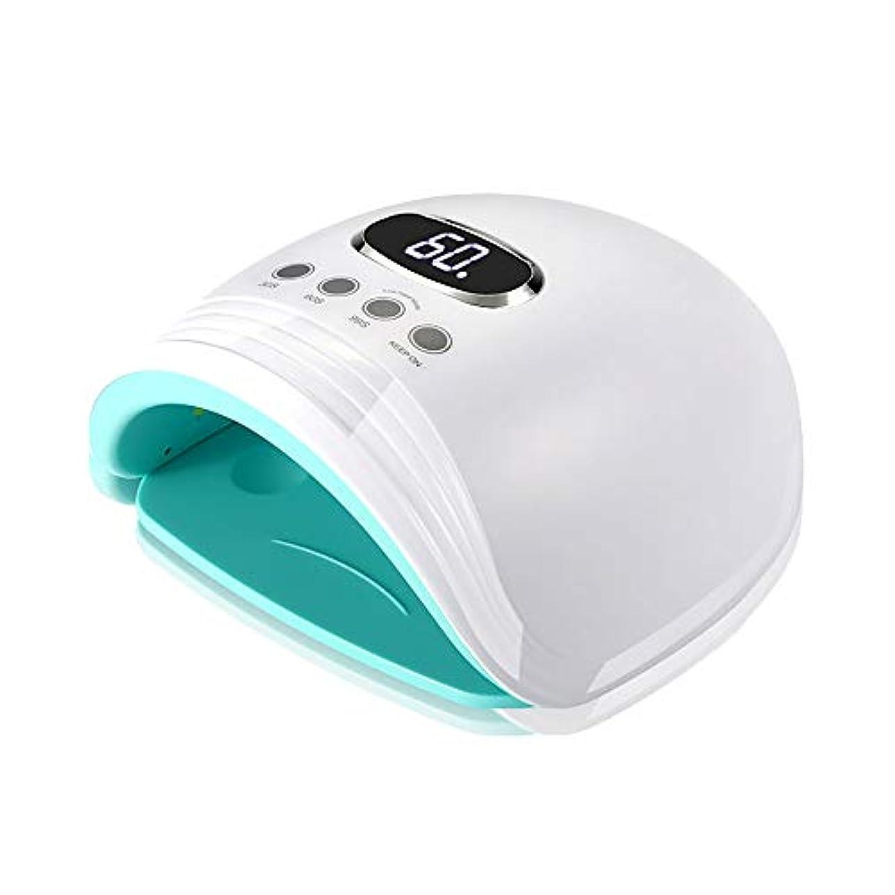 マイク田舎犯人釘のドライヤー - 自動赤外線センサー、二重光源のLEDランプのゲルのドライヤーのマニキュアが付いている紫外線携帯用LEDの釘ランプ
