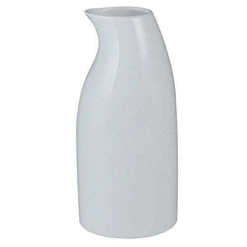 白山陶器 二号徳利 白磁 (約)φ7.5×15.5cm 400ml ペンギン PENGUIN 波佐見焼 日本製