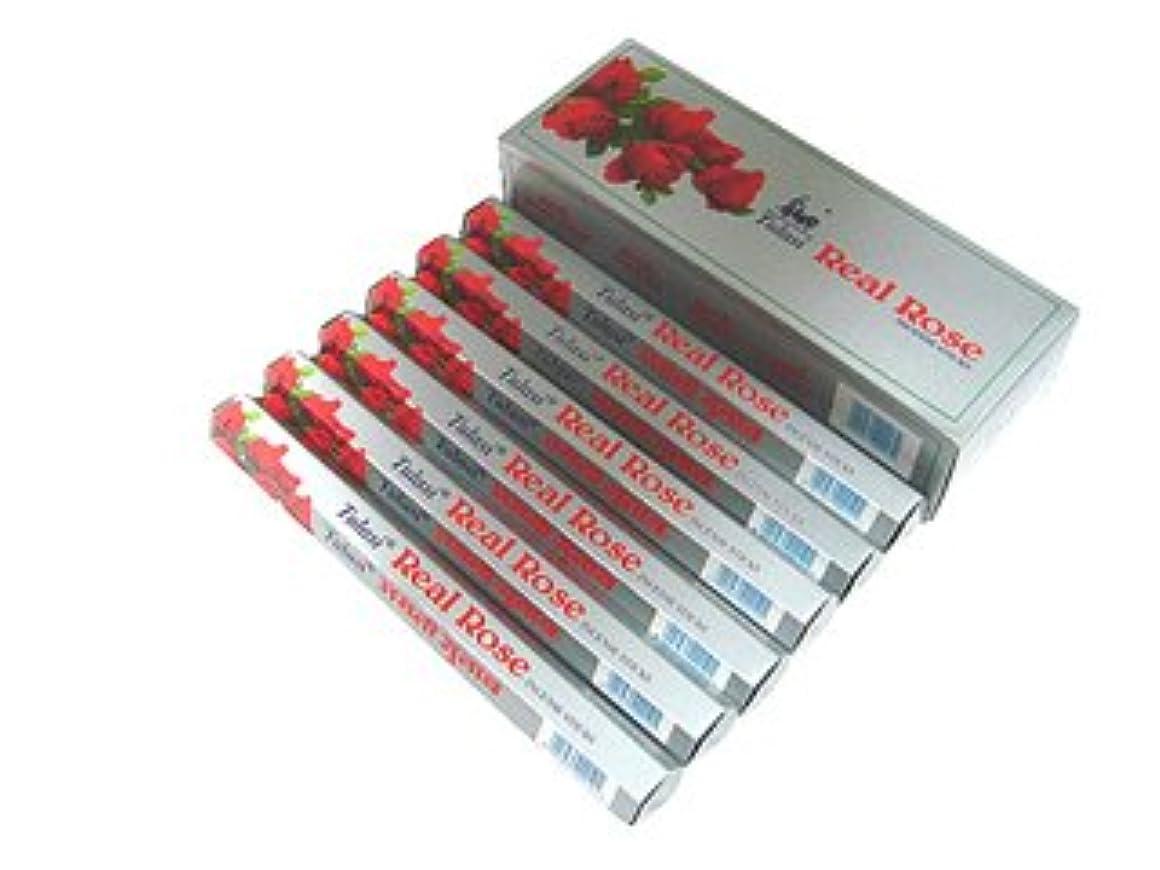 ガイド固有のボックスTULASI(トゥラシ) リアルローズ香 スティック REAL ROSE 6箱セット