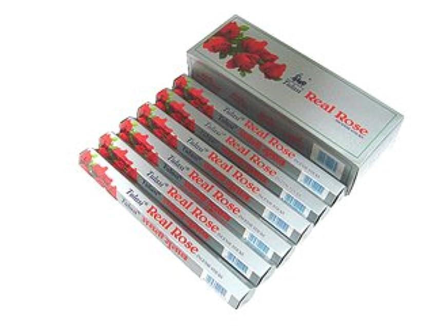 平等評判退院TULASI(トゥラシ) リアルローズ香 スティック REAL ROSE 6箱セット
