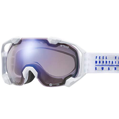 【国産ブランド】SWANS(スワンズ) スキー スノーボード ゴーグル ULTRAレンズ 撥水 くもり止め プレミアムアンチフォグ搭載 スキー スノーボード C2N-U/MDH-SC-PAF MAWF