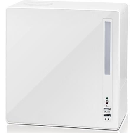 RoomClip商品情報 - 山善(YAMAZEN) 4.0L スチーム式加湿器(木造6畳まで/プレハブ9畳まで) アロマポット付 ホワイト [並行輸入品]