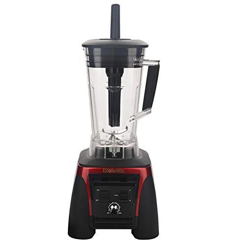 ブレンダー、 多機能ミキサー 2200W 2L ジューサー 野菜 果物 スムージー ミックス つぶす まぜる 家庭用 業務用 (2200W)(US プラグ 110V -レッド)