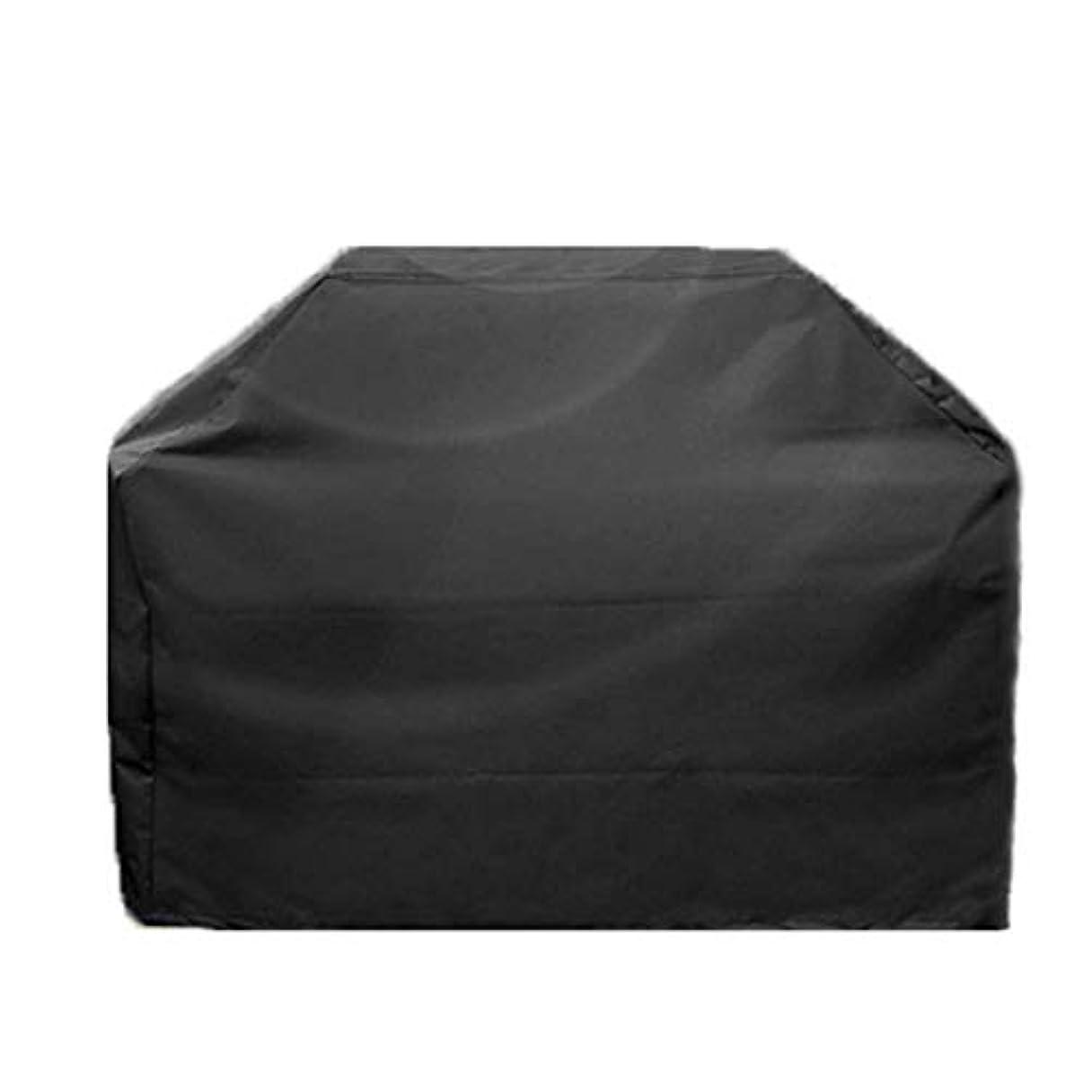 永遠のシャーク宿題をするJcy バーベキューふた、防風性、防塵性、耐UV性、引裂き性、退色防止、ほとんどのグリルカバーに対応 (色 : Black, Size : Square 170X61X117CM)