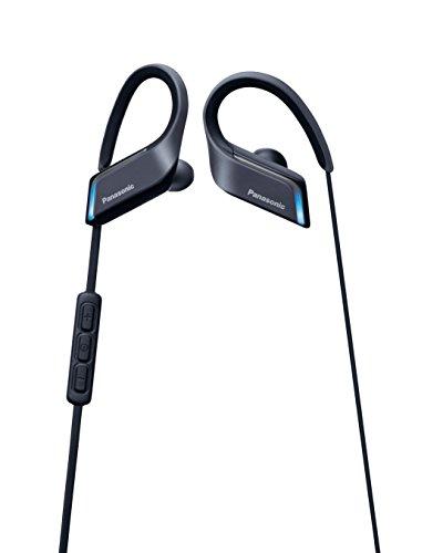 パナソニック ワイヤレスイヤホン Bluetooth 防水仕様 マイク・リモコン付き スポーツ向け ブラック RP-BTS55-K