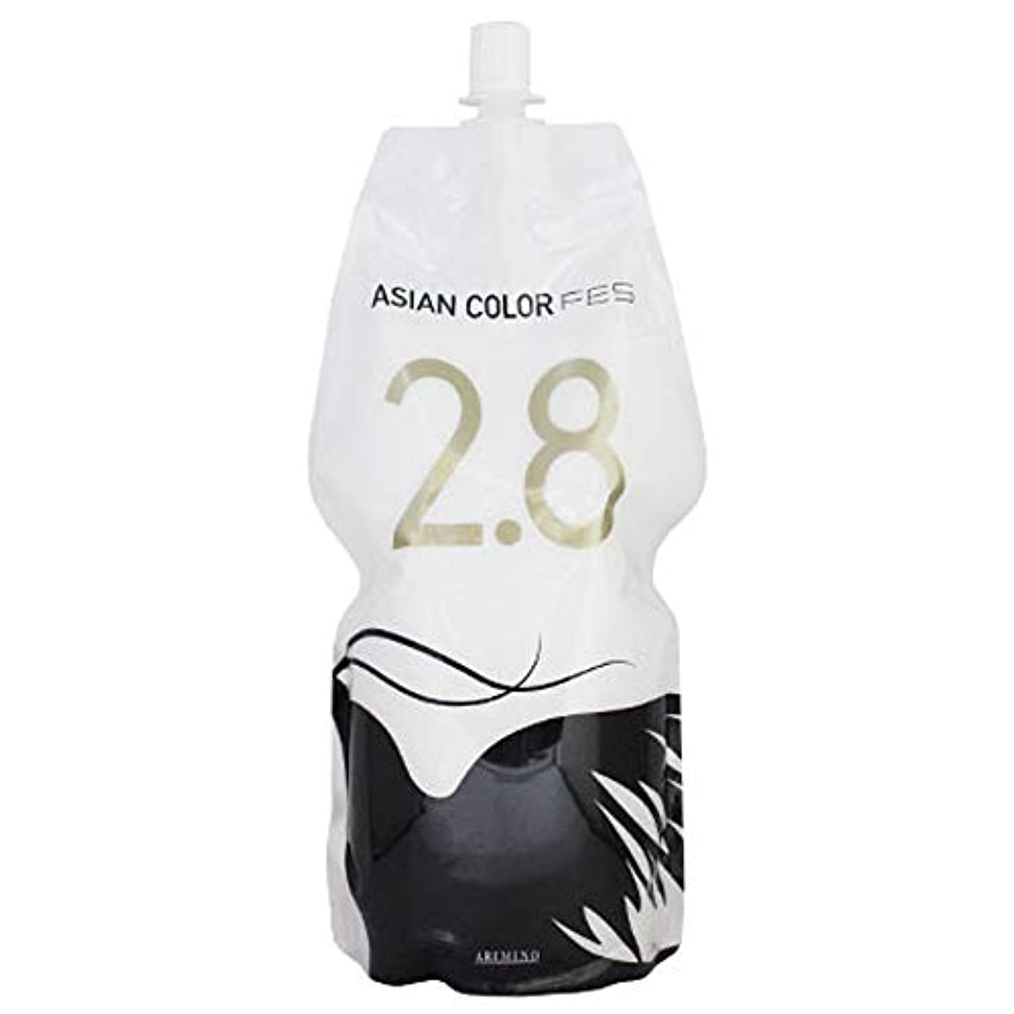 黒板アセンブリボルトアリミノ アジアンカラー フェス 第2剤 1200g (2.8%)