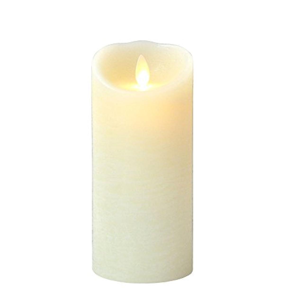 最初は簡潔な取るに足らない癒しの香りが素敵な間接照明! LUMINARA ルミナラ ピラー3×6 ラスティク B0320-00-20 IV?オーシャンブリーズ