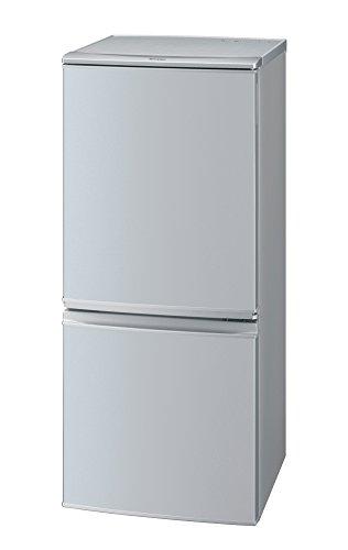 シャープ 冷蔵庫 つけかえどっちもドアタイプ 137L シルバー SJ-D14B-S