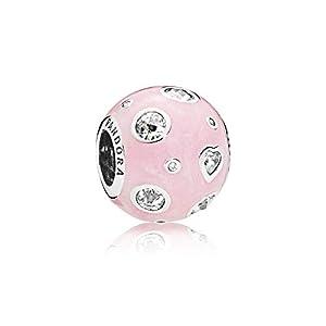[パンドラ] PANDORA Pearlescent Pink Dreams チャーム (シルバー キュービックジルコニア) 正規輸入品 797033EN153